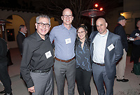 From left, Jesús Treviño '68, David Kasunic, Dyana Winkler and Adam Mehr '92.<br /> Music-MAC Panel Discussion: United Skates<br /> From Queen Latifah, Salt-N-Pepa and Naughty by Nature in New York/New Jersey to Dr. Dre and Ice Cube in Los Angeles, roller rinks have long been a mecca for music and creativity. With an average of three rinks closing a month, UNITED SKATES takes a deep dive into the vibrant and celebratory world of African American roller skating.<br /> Director Dyana Winkler and composer/Oxy instructor Jongnic Bontemps presented an exclusive partial screening of the film in advance of its February HBO premiere. Examining the interplay between film and music in storytelling, this panel discussion was moderated by Music and MAC Department Professors Adam Schoenberg and Broderick Fox. Mixer in the Booth Hall courtyard and panel in Booth Hall Room 204, Jan. 29, 2019.<br /> (Photo by Marc Campos, Occidental College Photographer)