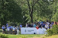 Ian Poulter (ENG) during the third round of the Northern Trust played at Liberty National Golf Club, Jersey City, USA. 10/08/2019<br /> Picture: Golffile | Phil INGLIS<br /> <br /> All photo usage must carry mandatory copyright credit (© Golffile | Phil Inglis)