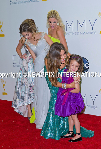 "MODERN FAMILY CAST(Winner Comedy Series)  64TH PRIME TIME EMMY AWARDS.Nokia Theatre Live, Los Angelees_23/09/2012.Mandatory Credit Photo: ©Dias/NEWSPIX INTERNATIONAL..**ALL FEES PAYABLE TO: ""NEWSPIX INTERNATIONAL""**..IMMEDIATE CONFIRMATION OF USAGE REQUIRED:.Newspix International, 31 Chinnery Hill, Bishop's Stortford, ENGLAND CM23 3PS.Tel:+441279 324672  ; Fax: +441279656877.Mobile:  07775681153.e-mail: info@newspixinternational.co.uk"