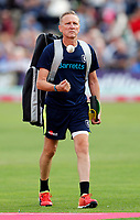 Kent assistant coach Allan Donald during the T20 Quarter-Final game between Kent Spitfires and Lancashire Lightning at the St Lawrence ground, Canterbury, on Aug 23, 2018.