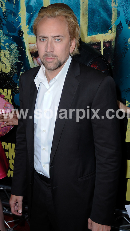 **ALL ROUND PICTURES FROM SOLARPIX.COM**.**SYNDICATION RIGHTS FOR UK, AUSTRALIA, DENMARK, PORTUGAL, S. AFRICA, SPAIN & DUBAI (U.A.E) & ASIA (EXCLUDING JAPAN) ONLY**.Kick-Ass Los Angeles Premiere - Arrivals, ArcLight Cinerama Dome, Hollywood, CA. USA, 13 April 2010.This pic: Nicholas Cage.JOB REF: 11084     PHZ ortega    DATE: 13_04_2010.**MUST CREDIT SOLARPIX.COM OR DOUBLE FEE WILL BE CHARGED**.**MUST NOTIFY SOLARPIX OF ONLINE USAGE**.**CALL US ON: +34 952 811 768 or LOW RATE FROM UK 0844 617 7637**