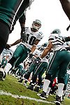 Philadelphia Eagles wide receiver DeSean Jackson #10 enters the field before the NFL game between the Kansas City Chiefs and the Philadelphia Eagles on September 27th 2009. The Eagles won 34-14 at Lincoln Financial Field in Philadelphia, Pennsylvania. (Photo by Brian Garfinkel)