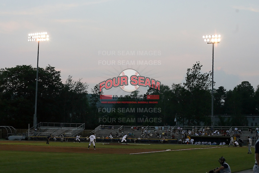 July 7th 2008:  The home of the Oneonta Tigers, Class-A affiliate of Detroit Tigers,Damaschke Field in Oneonta, NY.  Photo by:  Mike Janes/Four Seam Images