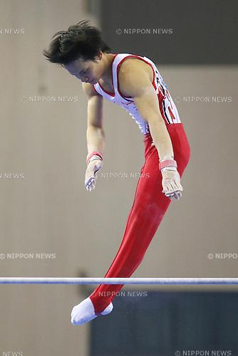 Yusuke Tanaka (JPN), OCTOBER 7, 2014 - Artistic Gymnastics : 2014 World Artistic Gymnastics Championships <br /> Men's Team Final at the Guangxi Gymnasium in Nanning, China. (Photo by Yusuke Nakanishi/AFLO SPORT)