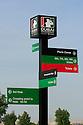 21/11/2009 European Tour 2009, Dubai World Championship presented by: DP World, Earth Course, Jumeirah Golf Estates, Dubai, United Arab Emirates.. 19- 22 Nov. {players} of Course signage during the third round..