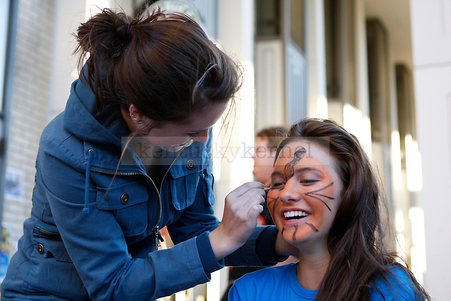 The Fall Festival is hosted on South Campus Thursday afternoon. Photo by Scott Hannigan | Staff