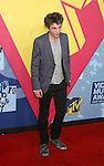 LOS ANGELES, CA. - September 07: Actor Robert Pattinson arrives at the 2008 MTV Video Music Awards at Paramount Pictures Studios on September 7, 2008 in Los Angeles, California.