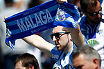 Malaga CF's supporters during La Liga match. February 25,2017. (ALTERPHOTOS/Acero)