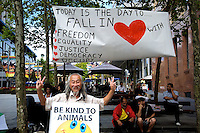 Occupy Sydney Valentine Day 2012