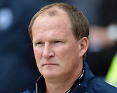 09/08/2015 Sky Bet League Championship Preston North End v Middlesbrough <br /> Preston North End manager, Simon Grayson