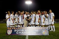 U.S. Soccer Development Academy U-16 Final. Carmel United vs PDA. July 19th, 2008 at The Home Depot Center in Carson, Calif.