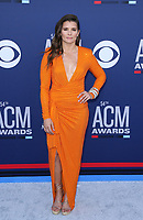 07 April 2019 - Las Vegas, NV - Danica Patrick. 2019 ACM Awards at MGM Grand Garden Arena, Arrivals.<br /> CAP/ADM/MJT<br /> &copy; MJT/ADM/Capital Pictures