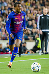 Nelson Cabral Semedo of FC Barcelona in action during the UEFA Champions League 2017-18 quarter-finals (1st leg) match between FC Barcelona and AS Roma at Camp Nou on 05 April 2018 in Barcelona, Spain. Photo by Vicens Gimenez / Power Sport Images