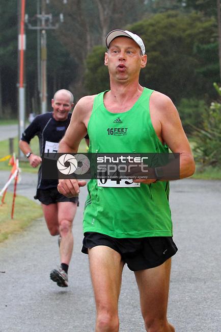 Half Marathon &amp; Road Relay, Rabbit Island, SI Masters Games, 22 October 2011, Nelson, New Zealand<br /> Photo: Marc Palmano/shuttersport.co.nz