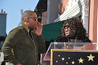 LOS ANGELES, CA. December 2, 2016: Lee Daniels &amp; Gabourey Sidibe at star ceremony for director Lee Daniels on the Hollywood Walk of Fame.<br /> Picture: Paul Smith/Featureflash/SilverHub 0208 004 5359/ 07711 972644 Editors@silverhubmedia.com