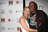 Christy Oldham, Louis Gossett Jr.<br /> at the 'DemiGoddess Vape' Celebrity Lounge hosted by PhotoMundo Publishing, Westin Los Angeles Airport Hotel, Los Angeles, CA 07-09-16