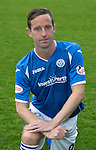 St Johnstone FC Photocall, 2015-16 Season....03.08.15<br /> Steven MacLean<br /> Picture by Graeme Hart.<br /> Copyright Perthshire Picture Agency<br /> Tel: 01738 623350  Mobile: 07990 594431