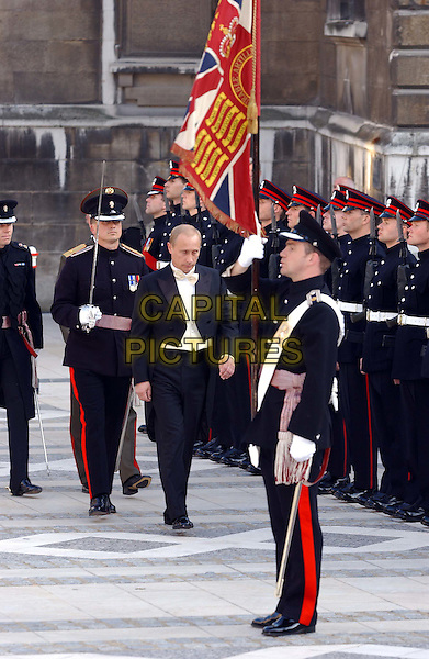 VLADIMIR PUTIN.Guildhall banquet in honour of the President of the Russian Federation .and Mrs Putina, in the City of London.sales@capitalpictures.com.www.capitalpictures.com.©Capital Pictures.full length, full-length.