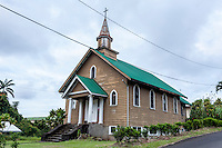 Old church in Papaikou, Big Island.
