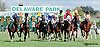 Mega Boom winning at Delaware Park on 9/28/13