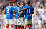14.07.2019: Rangers v Marseille: Jermain Defoe celebrates his goal