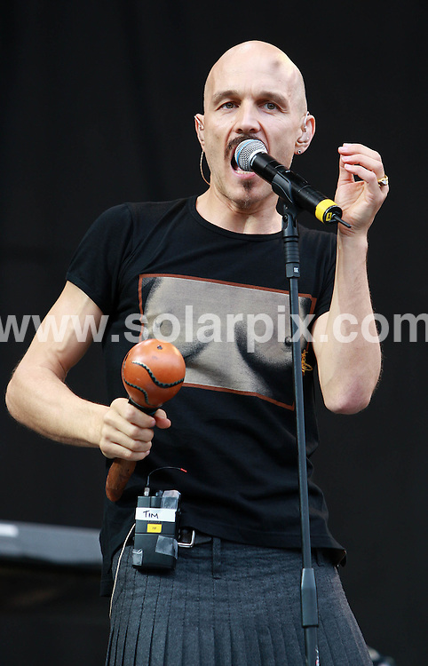 **ALL ROUND PICTURES FROM SOLARPIX.COM**.**WORLDWIDE SYNDICATION RIGHTS**.Artists perform at the 2007 V Festival, Chelmsford, UK. Sunday 19th August 2007...This pic: James..JOB REF: 4504 SSD     DATE: 19_08_2007.**MUST CREDIT SOLARPIX.COM OR DOUBLE FEE WILL BE CHARGED* *UNDER NO CIRCUMSTANCES IS THIS IMAGE TO BE REPRODUCED FOR ANY ONLINE EDITION WITHOUT PRIOR PERMISSION*