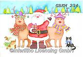 Kate, CHRISTMAS SANTA, SNOWMAN, WEIHNACHTSMÄNNER, SCHNEEMÄNNER, PAPÁ NOEL, MUÑECOS DE NIEVE, paintings+++++Christmas page 91 #,GBKM234,#x#