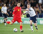 Aaron Ramsey and Darren Fletcher