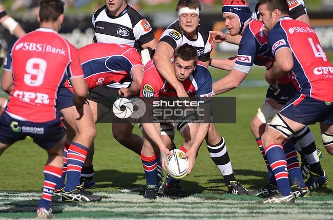 Tasman Makos vs Hawkes Bay Magpies, ITM Cup Rugby, 17th August 2014, Lansdowne Park, Blenheim New Zealand, Ricky Wilson Shuttersport