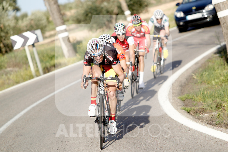Etapa en linea ruta vuelta a Madrid 2011 301 Francisco Prieto Club Ciclista Getafe. (ALTERPHOTOS/Alvaro Hernandez)