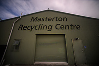 Masterton Recycling Centre in Masterton, New Zealand on Friday, 6 October 2017. Photo: Dave Lintott / lintottphoto.co.nz