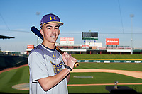 Tyler Henrich during the Under Armour All-America Tournament powered by Baseball Factory on January 17, 2020 at Sloan Park in Mesa, Arizona.  (Zachary Lucy/Four Seam Images)