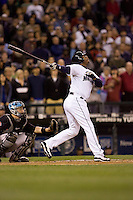 May 19, 2010: Seattle Mariners' Ken Griffey, Jr. (24) at-bat during a game against the Toronto Blue Jays at Safeco Field in Seattle, Washington.