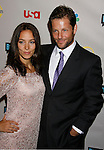 Actor Jamie Bamber and wife Kerry Norton arrive at the NBC Universal 2008 Press Tour All-Star Party at The Beverly Hilton Hotel on July 20, 2008 in Beverly Hills, California.