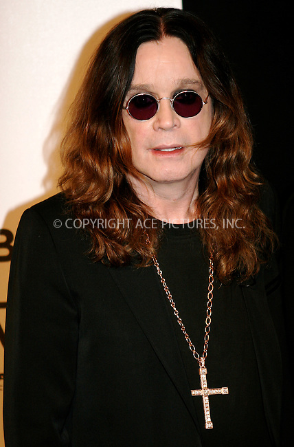 WWW.ACEPIXS.COM . . . . .  ....April 24 2011, New York City....Ozzy Osborne arriving at the premiere of 'God Bless Ozzy Osbourne' during the 2011 Tribeca Film Festival at BMCC Tribeca PAC on April 24, 2011 in New York City.....Please byline: NANCY RIVERA- ACEPIXS.COM.... *** ***..Ace Pictures, Inc:  ..Tel: 646 769 0430..e-mail: info@acepixs.com..web: http://www.acepixs.com