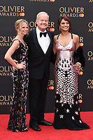 Kelsey Grammer and Danielle De Niese<br /> arriving for the Olivier Awards 2019 at the Royal Albert Hall, London<br /> <br /> ©Ash Knotek  D3492  07/04/2019