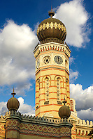 Moorish influenced Synagogue. Budapest, Hungary