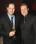 Shawn Thurman and Scott Nelson at a party for Giles Hennessey at the home of Becca Cason Thrash Tuesday March 9,2010. (Dave Rossman Photo)