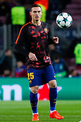 5th December 2017, Camp Nou, Barcelona, Spain; UEFA Champions League football, FC Barcelona versus Sporting Lisbon; Thomas Vermaelen of FC Barcelona warm ups before the match