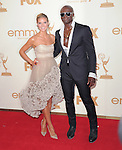 Heidi Klum and Seal at The 63rd Anual Primetime Emmy Awards held at Nokia Theatre L.A. Live in Los Angeles, California on September  18,2011                                                                   Copyright 2011Debbie VanStory / iPhotoLive.com