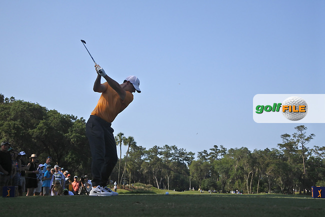 Rory McIlroy (NIR) during round 1of the Players, TPC Sawgrass, Championship Way, Ponte Vedra Beach, FL 32082, USA. 12/05/2016.<br /> Picture: Golffile | Fran Caffrey<br /> <br /> <br /> All photo usage must carry mandatory copyright credit (&copy; Golffile | Fran Caffrey)