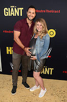 """LOS ANGELES - FEB 29:  Jaylen Moore, Guest at the """"Andre The Giant"""" HBO Premiere at the Cinerama Dome on February 29, 2018 in Los Angeles, CA"""