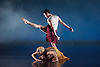 Terra Incognita<br /> by Shobana Jeyasingh <br /> Music by Gabriel Prokofiev<br /> Designed by Jean-Marc Puissant <br /> Lighting by Lucy Carter <br /> Rambert Dance at Sadler's Wells, London, Great Britain <br /> 18th November 2014 <br /> rehearsal <br /> <br /> <br /> <br /> Dane Hurst <br /> <br /> <br /> <br /> Simone Damburg Wurtz<br /> <br /> <br /> <br /> <br /> Photograph by Elliott Franks <br /> Image licensed to Elliott Franks Photography Services