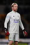 Kasper Schmeichel of Leicester City during the Premier League match at Molineux, Wolverhampton. Picture date: 14th February 2020. Picture credit should read: Darren Staples/Sportimage