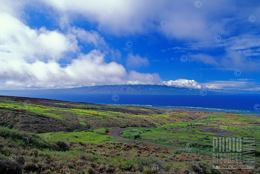 Looking towards Molokai from Lanai