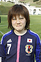 Hanae Shibata (JPN), APRIL 3, 2012 - Football / Soccer : Women's International Friendly match between France B and U-20 Japan in Clairefontaine, France. (Photo by AFLO SPORT)