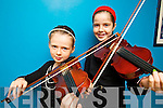 Clíona and Kate Lynch (Glenflesk) pictured at Ceoltas Ceoltoiri Eireann finals held in IT Tralee on Saturday morning.