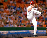 13 June 2006: Mike Stanton, pitcher for the Washington Nationals, on the mound against the Colorado Rockies at RFK Stadium, in Washington, DC. The Rockies defeated the Nationals 9-2 in the second game of the four-game series...Mandatory Photo Credit: Ed Wolfstein Photo..