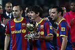 FC Barcelona vs R. Betis: 5-0 - quarter-final first leg Copa del Rey 2011.