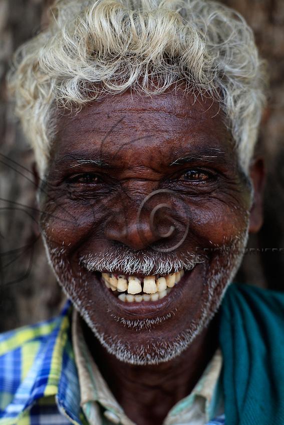 Portrait of a Soliga man